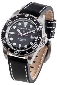 【送料無料】腕時計 ウォッチ カールフォンアラームcarl von zeytenno 30cvz0030bk reloj hombre nuevo original