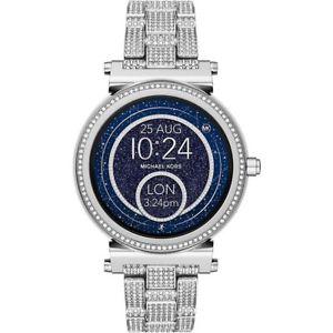 腕時計 ウォッチ ミハエルアラームステンレススチールシルバーmichael kors mkt5024 dorado reloj fantastico plata de acero inoxidable nuevo