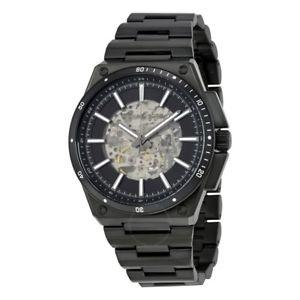 【送料無料】腕時計 ウォッチ ミハエルスチールワイルダーマンイオンクロックmichael kors mk9023 wilder acero ionizado negro reloj automtico de hombre
