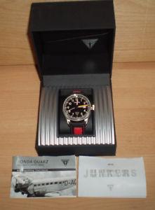 【送料無料】腕時計 ウォッチ ジュクォーツボックスjunkers cabina ju52 614407304, cuarzo reloj, 5 atm impermeable, box