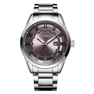 腕時計 ウォッチ ×カレンダーマンレジャー×5xcurren 8246 reloj de hombre cuarzo impermeable calendario ocio g2x6