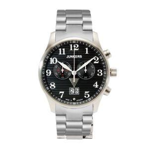 【送料無料】腕時計 ウォッチ ジュアニークオーツクロノグラフブラックjunkers iron annie ju52 cuarzo, 6686m2, chronograph, negro
