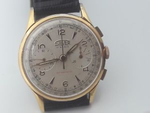 【送料無料】腕時計 ウォッチ クロノグラフシルバークロノグラフシルバーcronografo da polso silver landeron 248 chronograph silver landeron 248