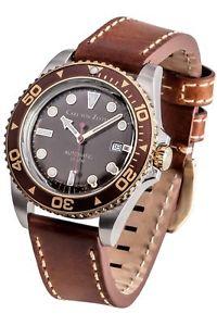 【送料無料】腕時計 ウォッチ カールフォンアラームcarl von zeytenno 30cvz0030br reloj hombre nuevo original