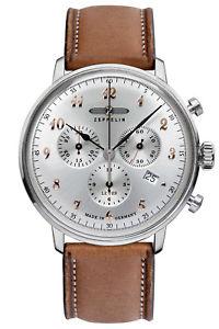 【送料無料】腕時計 ウォッチ ツェッペリンアラームクロノグラフヒンデンブルククロノzeppelin reloj hombre crongrafo lz129 hindenburg ed 1 chrono 70885