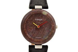【送料無料】腕時計 ウォッチ ビンテージティソブラウンレディース