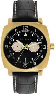 腕時計 ウォッチ テッドベーカーナイツレザーストラップカレンダークロックテted baker caballeros correa de cuero reloj calendario te1104tbnp