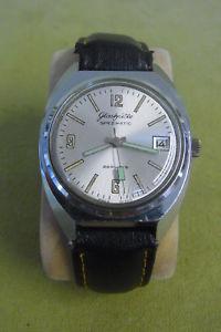 腕時計 ウォッチ カチカチreloj de pulseravidriera spezimatic  26 rubisreloj correfechamanecillas