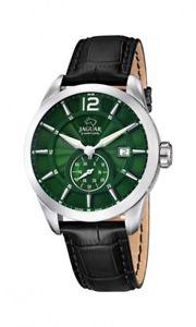 【送料無料】腕時計 ウォッチ ジャガーブラックレザーマンjaguar reloj pulsera hombre j6633 cuero negro