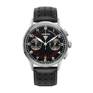 【送料無料】腕時計 ウォッチ クォーツクロノグラフブラックjunkers g38 cuarzo, 69702, chronograph, negro