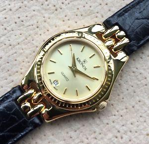 【送料無料】腕時計 ウォッチ アメリカヴィンテージアラームnos nuevo kronos gold plated vintage watch 25,5 mm reloj