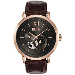 【送料無料】腕時計 ウォッチ ヒューゴボスメンズシグネチャ hugo boss hb 1513506 mens signature automatic watch 2 years warranty