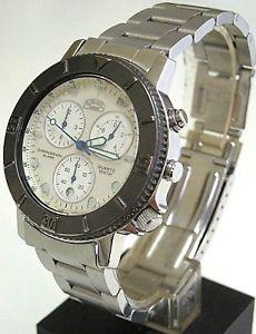 腕時計 ウォッチ キャメルトロフィークロノグラフアラームステンレススチールnos camel trophy chronograph alarm watch, st steel, wr 100, date, quartz