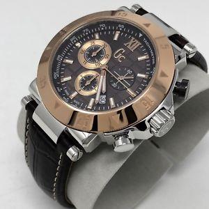 腕時計 ウォッチ アラームスポーツマンローズゴールドスイス×クロノグラフコレクションreloj crongrafo guess collection para hombre gc1 sport rosa oro swiss x90020g4s