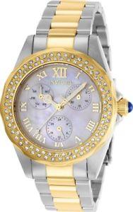 【送料無料】腕時計 ウォッチ ステンレススチールクォーツトーンinvicta mujer ngel cuarzo 100m acero inoxidable reloj de dos tonos 28437