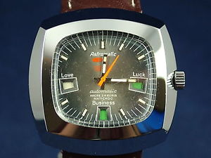 【送料無料】腕時計 ウォッチ ヴィンテージアクエリアススイスサインインウォッチcaballeros nos vintage astromatic aquarius signo reloj automtico suizo de alrededor de 1970