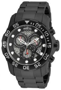 【送料無料】腕時計 ウォッチ プロダイバークォーツクロノグラフステンレススチールinvicta hombres pro diver crongrafo de cuarzo 300m reloj acero inoxidable 19838