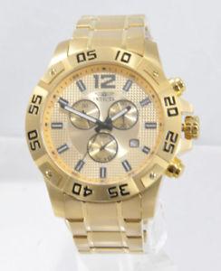 【送料無料】腕時計 ウォッチ スチールアラームクロノグラフイオンhombres invicta 1980 specialty color dorado ion acero crongrafo esfera reloj