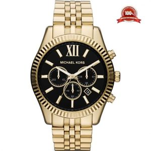 腕時計 ウォッチ ミハエルレキシントンクロノグラフゴールドウォッチラウンドデザイナートーンedicin limitada de caballero mk8286 michael kors lexington crongrafo reloj de oro de t