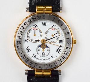 【送料無料】腕時計 ウォッチ ミッシェルフランスクオーツモデルmichel herbelin france cuarzo reloj de pulsera mondphasenuhr modelo 13855 fantastico