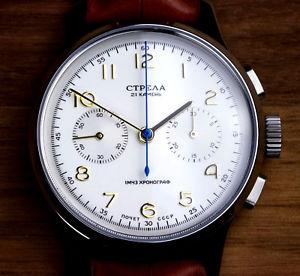 【送料無料】腕時計 ウォッチ クロノグラフci40cy strela chronograph 40mm