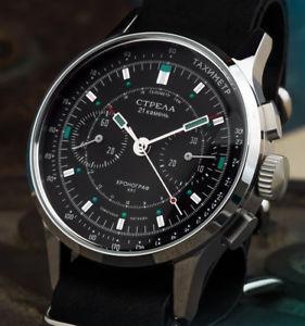 【送料無料】腕時計 ウォッチ クロノグラフco40cyb strela chronograph 40mm