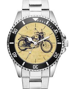 腕時計 ウォッチ ドライバーオートバイアラームkiesenberg  reloj 20165 con motivo de motocicleta para kawasaki w 650 conductor