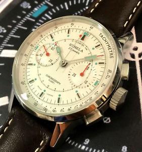 【送料無料】腕時計 ウォッチ クロノグラフco40law strela chronograph 40mm