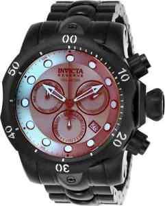【送料無料】腕時計 ウォッチ チタンクロノグラフウォッチブックnuevo anuncio25417 invicta 537mm reserve crongrafo titanio esfera reloj hombre