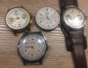 【送料無料】腕時計 ウォッチ nuevo anunciolot montre chronographe suisse chronomtre montre ancienne venus landeron orator