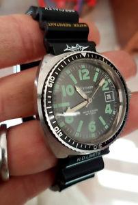腕時計 ウォッチ ドダイバーウォッチmontre de plonge fresard  automatic 21 rubis diver watch