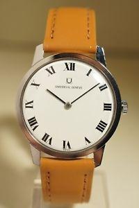 【送料無料】腕時計 ウォッチ ユニバーサルジュネーブボンuniversal geneve acier, trs bon tat, annes 50