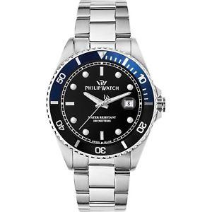【送料無料】腕時計 ウォッチ オロロジィリップウォッチカリブスイスネロブルorologio philip watch caribe r8253597043 uomo watch swiss made nero blu 42mm