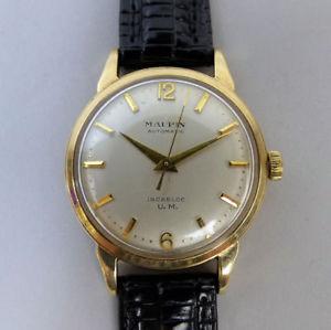 【送料無料】腕時計 ウォッチ ナイツkゴールドコレクションreloj de pulsera de coleccin de caballeros 9k oro mappin 17 joya automtico birm 1957 en gwo