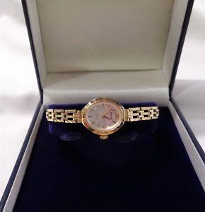 【送料無料】腕時計 ウォッチ ゴールドブレスレットreloj de cuarzo seoras accurist con pulsera de oro 9ct con dibujoslongitud de 6 34 en