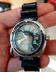【送料無料】腕時計 ウォッチ ドダイバーウォッチmontre de plonge fresard automatic 21 rubis diver watch