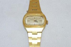 腕時計 ウォッチ ブレスレットクロックワークビンテージdugena seora reloj reloj pulsera funcionan vintage goldfarbendn4