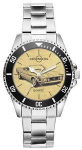 【送料無料】腕時計 ウォッチ フォードムスタングシリーズドライバーファンアラームregalo para ford mustang serie 2 oldtimer conductor fans kiesenberg reloj 6446