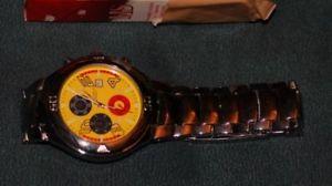 腕時計 ウォッチ デザイナースポーツorologio seltener designer sport chronografo edelstahl