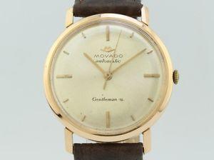 【送料無料】腕時計 ウォッチ ゴールドmovado gentleman automatic gold