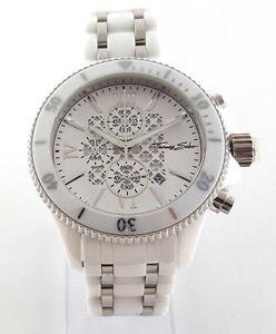 【送料無料】腕時計 ウォッチ トーマスクロノグラフアラームセラミックthomas sabo chronograph reloj rebel ceramic blanco 44mm wa0067206202