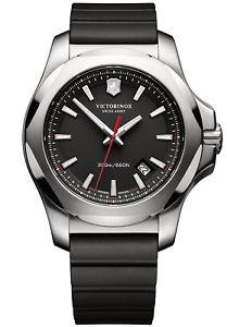 【送料無料】腕時計 ウォッチ ナイツブラックvictorinox caballerosreloj pulsera inox negros 2416821