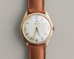 【送料無料】腕時計 ウォッチ ビンテージソリッドゴールドvintage zenith stellina 18k solid gold