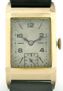 【送料無料】腕時計 ウォッチ タンクヴィンテージアラームkゴールドzenith tank vintage reloj hombre de aprox 193540 en 58514k oro rarezas kal8 34 f