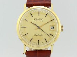 【送料無料】腕時計 ウォッチ kゴールドduward diplomatic automatic 18k gold