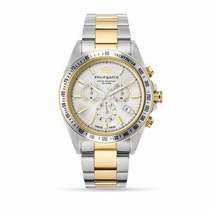 【送料無料】腕時計 ウォッチ オロロジィリップウォッチカリブクロノグラフゴールドウォッチorologio philip watch caribe r8273607001 uomo watch cronografo bicolore oro