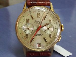 【送料無料】腕時計 ウォッチ ヴィンテージvintage watch cauny * cronograph * 37mm * caliber landeron 187 * top condition