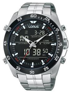 【送料無料】腕時計 ウォッチ クロノグラフクロノアラームlorus reloj hombre crongrafo chrono rw611ax9