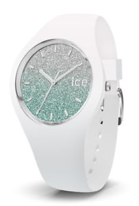【送料無料】腕時計 ウォッチ ホワイトターコイズシリコンice watch 013430 ice lo white turquoise medium, silicona blanco nuevo