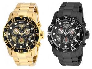 【送料無料】腕時計 ウォッチ プロダイバークォーツクロノグラフステンレススチールinvicta hombres pro diver crongrafo de cuarzo 300m reloj acero inoxidable